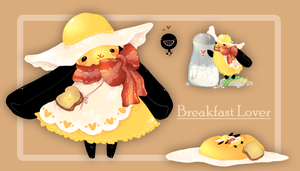 [SOLD] Breakfast Mocchi! by WiviAdopts