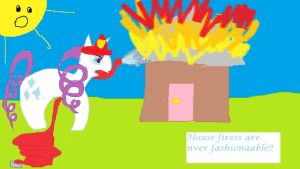 Rarity House Fire by a-map