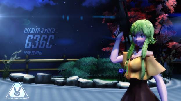 [DL] HK G36C for MMD by anondxdproductions