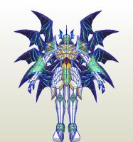 Digimon Frontier ShadowSeraphimon pic by PapercraftKing