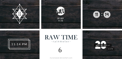 Raw Time Pack 6 [New Pack] by MunaNazzal