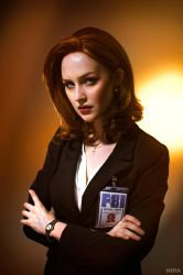 The X-files - Agent Scully by ver1sa