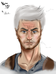 Nathan Drake (Attempt) by ChrisMcClary