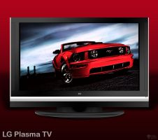 LG Plasma TV by KGY-Graphic