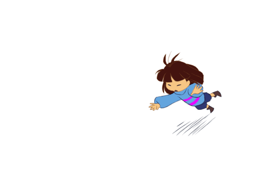 Undertale - Rolling Frisk by TC-96