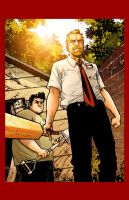 Shaun of the Dead by Gabriel-Cassata
