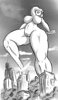 Giantess Draw - Wasteland Apocalyptic Views by Colonel-Gabbo