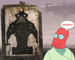 Disctrict 9 Zoidberg Wallpaper by NeonFiles