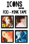 Icons : f(x) - Pink Tape by mayradias