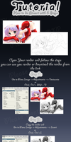 Tutorial tutorial How to do Lineart with 5 Steps w by hillllallll