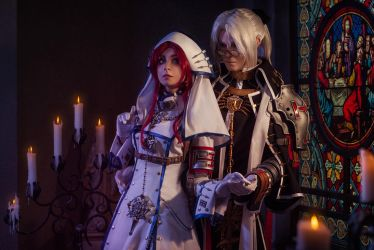 TRINITY BLOOD: Hand by hand by MiraMarta