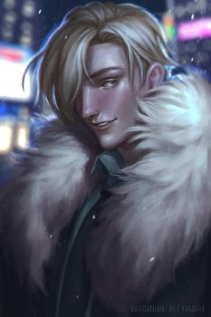Victor (Commission) by Maaronn