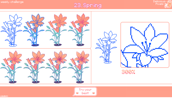 Weekly Challenge 23 - Spring by Lanahx3