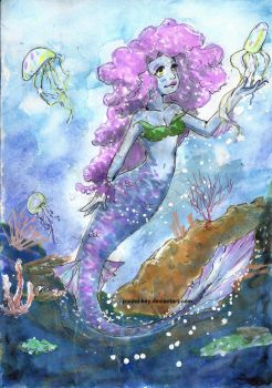 Mermaid 1 by pound-key