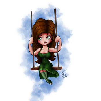 Megan's Swing by TeaQuill by Detective-Barricade