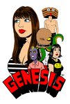 GENESIS - Front Cover by LarryKingUndead
