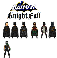Batman:Knightfall (Ultimates 52) by Nova20X