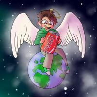 IM ON TOP OF THE WORLD EY by SameNoodles