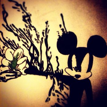 Epic Mickey Drawing #3 by dizborg71