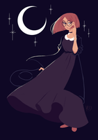 Witchy Art Challenge - Day 1 - Witchsona by Vicky-Pandora