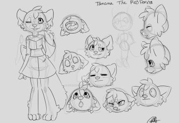Tamama the Redpanda by PixelDragonCreations