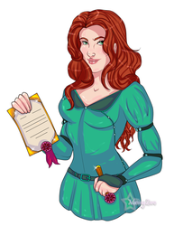 Commission: Amber Duvall by Musing-Zero