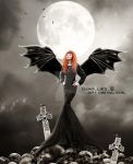 Queen of the vampire. by CharllieeArts