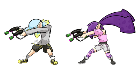 Squiddie Dab by Prosterguy