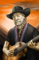 Willie Nelson by Alexx1989