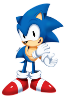 Sonic clapping by JamoART