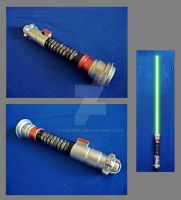 Lightsaber Luke Skywalker by Krasi90