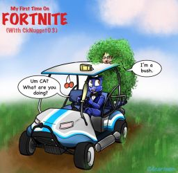 My First Time on Fortnite (With CK) by CAcartoon