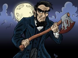 Abraham Lincoln: Vampire Hunter ver.2 Color by AtlantaJones