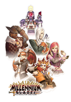 Millennium Blades - The Playable Bunch by FontesMakua