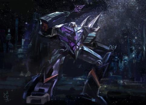 megatron tf fall of cybertron by agathexu on deviantart