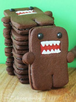 Domo Cookies by cakecrumbs