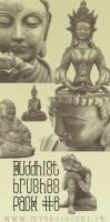 Buddhist Brushes Pack 6 by lotus82