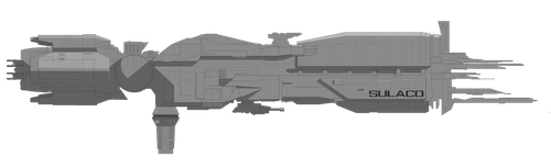 Sulaco, with shadows and highlights (UNFINISHED) by JaydoDre