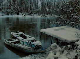 Winter waterscape 2010 by Lurvig01