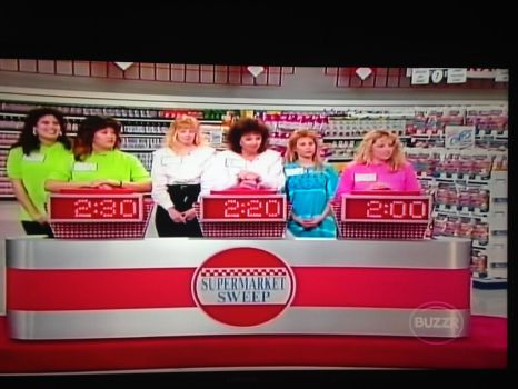 1991 Supermarket Sweep game show scene by dth1971