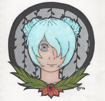Chrysanthemum Headshot by Jellyfish-Magician