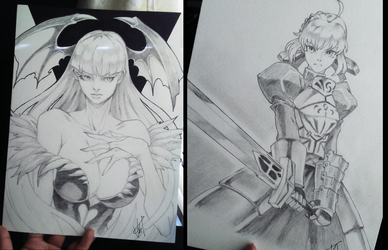 Some pencil drawings... by rayn567