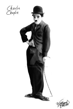 Charlie Chaplin by WilleWellDesigner