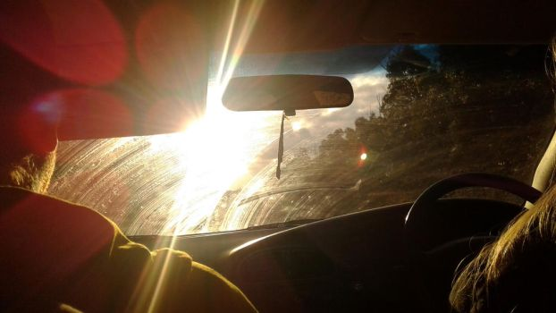 Driving into the Sun by Skar004