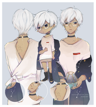 Constellation Boy Auction:{ CLOSED } by WanyaaGoAdopts