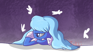 im blue da ba dee by Inkli