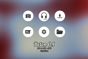 Beton Icon Pack [.PNG] by fkyhdino