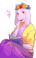 Flowers for Toriel by SylveonChan