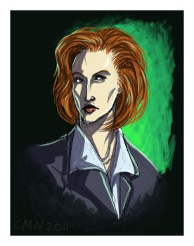 Agent Dana Scully by CeeNot
