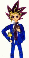 The Game Knight Yugi Mutou by WhoopA